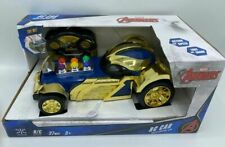 NIB MARVEL AVENGERS THANOS RC RADIO CONTROL CAR 27 MHZ WITH LIGHTS & SOUND