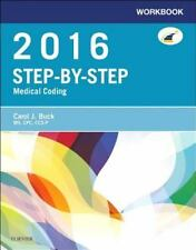 Workbook for Step-by-Step Medical Coding, 2016 Edition, 1e