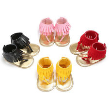 Newborn Baby Girl Crib Shoes Infant First Shoes Flip Flops Summer Sandals 0-18 M