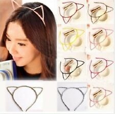 Set of 15 Cat Ear Headbands in assorted colors