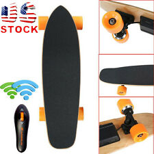7 Inch Remote Control Four Wheels Electric Skateboard Longboard Skate Board New