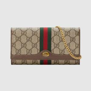 $890 Gucci Ophidia GG Chain Wallet - Final clearance sale this week only!
