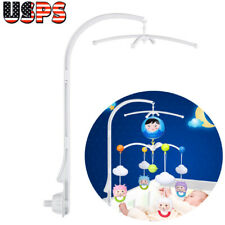 Baby Crib Mobile Bed Bell Holder Hanging Arm Bracket Toy Decoration USA
