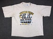 Vintage Pittsburgh Penguins '91 '92 Back To Back Stanley Cup T Shirt Mens XL 90s