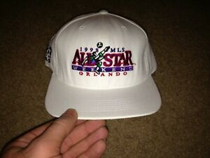 1998 MLS ALL STAR WEEKEND Pro Player XL SNAPBACK HAT Major League Soccer VINTAGE