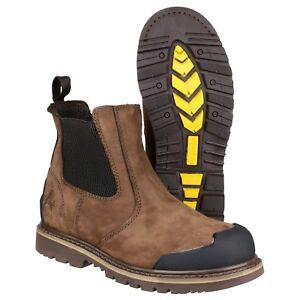 Amblers FS225 Safety Boots S3 Steel Toe Cap Waterproof Dealer Chelsea Work Mens