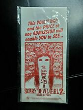 Loot Fright Crate Scary Devil Girl 2 Vomit Barf Lunch Bag