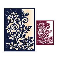 *Rose Metal Cutting Dies Stencil Embossing Paper Card Scrapbooking Decor Die-Cut