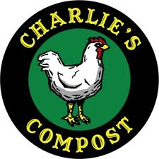 Certified Organic Chicken Manure Fertilizer: Charlie's Compost! Various Sizes