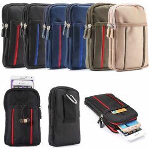 Gürteltasche Handy Tasche Nylon 175x110x30mm Handytasche Gürtel Herren Holster
