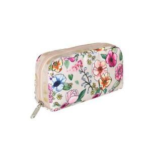 LeSportsac Classic Rectangular Cosmetic Make Up Bag in Sunshine Garden NWT