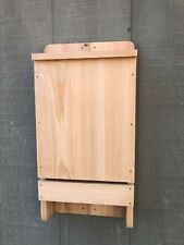 Large 3 Chamber High Quality Cypress Wood Bat House