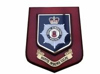 Gibraltar Police Service Wall Plaque UK Made for MOD