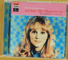 Jackie DeShannon - What the World Needs Now Is: Definitive Collection (CD, 1994)