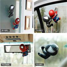 Spiderman Doll Car Cute Ornaments Q Version Automotive Interior Toys Sculpture
