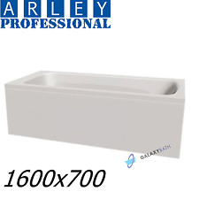 ARLEY MODERN RECTANGULAR 5MM ACRYLIC BATHTUB 1600 x 700mm WITH LEGS HIGH QUALITY