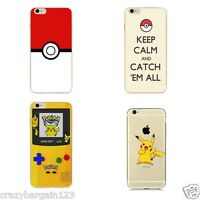 POKEMON Style Go Pikachu Pokeball  Keep Calm Hard Case Cover for iPhone 5s,5c,6