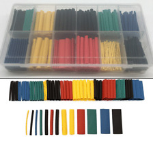 328pcs HEAT SHRINK TUBING Sleeve Cable Wire Wrap Tube 2:1 Assortment Kit Set Y