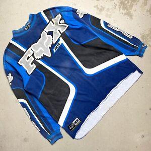 Vintage 1998 Fox Racing RS Motocross Supercross Jersey XL - axo jt henry shift