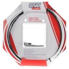 Clarks CNC Zéro-G Léger Mtb + Vélo de Route Gear Kit de câble-blanc