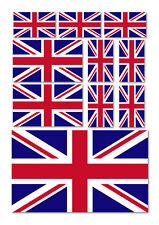 10 X UNION JACK FLAG VINYL CAR VAN IPAD LAPTOP STICKERS