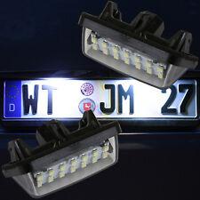 sehr helle LED SMD Kennzeichen Beleuchtung Nummernschild Toyota Prius [7717]