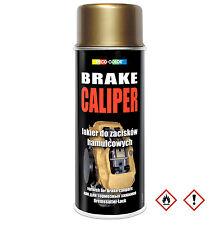 1 Stück 400ml gold Bremssattel Lack Bremslack Bremsen Sattel Tuning
