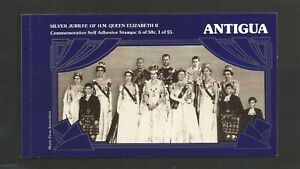 Antigua 1977 Silver Jubilee Booklet SG 532/3 Self Adhesives