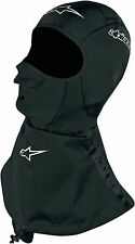 Alpinestars Black Winter Touring Balaclava One Size for Cold Weather Riding