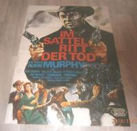 A1 Filmplakat  IM SATTEL RITT DER TOD , AUDIE MURPHY,BEN COOPER,COLLEEN MILLER