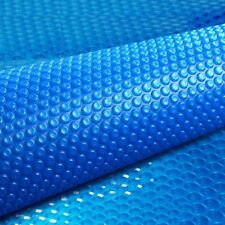 11x6.2m Solar Swimming Pool Cover Blanket Bubble Roller Wheel 2 YR Wrty