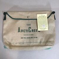 NWT VTG ArctiCreel Trout Fishing Creel Colorado Tent Canvas Bag Self-Cooling