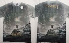 The Hobbit Desolation of Smaug Poster Front And Back Sublimation Print T-Shirt