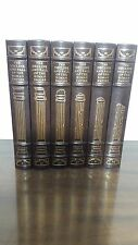 DECLINE & FALL OF ROMAN EMPIRE Edward Gibbon in 6 volumes Easton Press