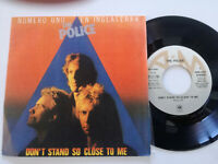 """THE POLICE Don't Stand So Close To Me SPAIN 7"""" VINYL 1980 NM Sting"""