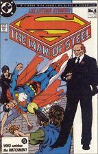 MAN OF STEEL 4 NM SUPERMAN 1986 1st LIMITED SERIES RARE