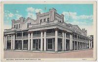 1929 MARTINSVILLE Indiana Ind Postcard NATIONAL SANITARIUM