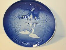 Royal Copenhagen Christmas in the Village Collector Plate