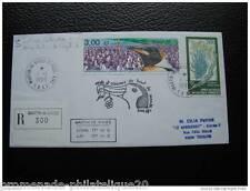 TAAF lettre 1/1/99 - timbre Yvert et Tellier n°237 et 244
