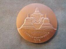 ancienne médaille - jeton en bronze unesco 1976