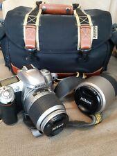 Nikon d50 with long range lense and bag