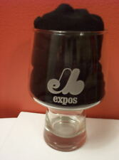VINTAGE Montreal Expos Baseball GOBLET GLASS STEIN MLB