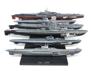 WW2 German Submarine U-Boat Military Navy U47 U181 U26 1/350 Model with Stand