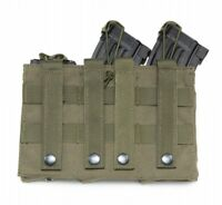 magazine pouch triple clip carrier holder outdoor hunting surivial 3Bags W8H