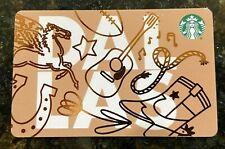 RARE NEW Release 2019 Starbucks DALLAS, Texas  Gift Card