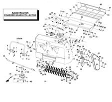 """COUNTAX C SÉRIE moteur de 42/"""" Pont Lame Ceinture 22871200 B57 Ride on Mower"""