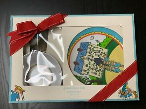 "NEW in box, ""Madeline"" Tabletop eating set - Pottery Barn Kids in great shape!"