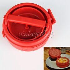 Hamburger Meat Pie/Meatloaf/Bakemeat/Stuffing/Filling Mold Maker Kitchen Cooking