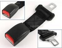 """25mm 1"""" Tongue 20cm Flexible Strap Seat Belt Extension Extender Restraint Clip"""