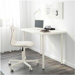 IKEA Linnmon Computer Desk Simple Design PC Laptop Table Home 100x60cm white